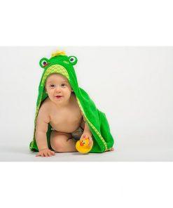 magia-delle-mamme-zoocchini-asciugamano-baby-con-cappuccio-flippy-la-ranocchia-100-cotone-accappatoi-e-asciugamani