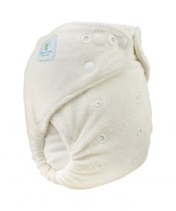 magia-delle-mamme-Blümchen Bamboo nappy-Snaps-fastening-Fitted-Fitted-a-Pocket