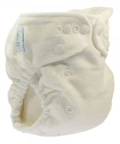 magia-delle-mamme-Blümchen Bamboo nappy V3 Snap fastening Fitted-1