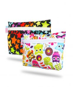 magia-delle-mamme-Rainbow-Stars-Happy-Owls–Wetbag-2-Pack
