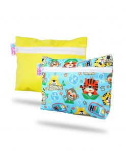 magia-delle-mamme-Wetbag-2-Pack-Yellow-School-Jungle