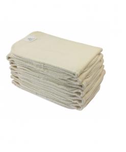 Magia-delle-Mamme-Blümchen-Booster-Twill-Organic Cotton-Inserti-Assorbenti-11x34-cm-(conf-12-pz.) -1