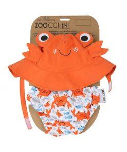 magia-delle-mamme-zoocchini-set-baby-costumino-contenitivo-cappellino-granchio-upf-50-costumi-contenitivi