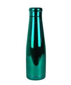 magia-delle-mamme-woodway-well-bottle-green-chrome-borraccia-acciaio-inox