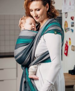 magia-delle-mamme-lenny-lamb-woven-wrap-Baby-Sling-Broken-Twill-Weave-smoky-mint