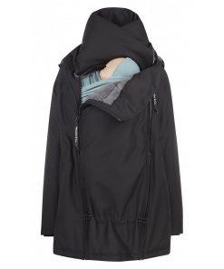 magia-delle-mamme-wombat-giacca-maternita-e-per-portare-wombat-wallaby-20-nera-con-interno-grigio-4-in-1
