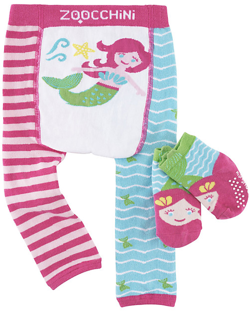 magia_delle_mamme_zoocchini-set-leggings-e-calzini-antiscivolo-grip-easy-puddles-Marietta-la-Sirena