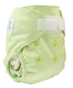 magia-delle-mamme-Blümchen-pannolino-lavabile-cover-newborn-green