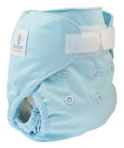 magia-delle-mamme-Blümchen-pannolino-lavabile-cover-newborn-light-blue