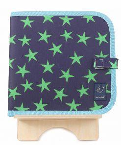 magia-delle-mamme-jaq-jaq-bird-doodle-it-stelle-verde-e-blu-album-riutilizzabile-più-4-gessetti-zero-polvere-butterstix-giochi-da-viaggio