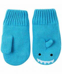 magia-delle-mamme-zoocchini-guanti-baby-knit-mittens-sherman-lo-squalo-rivestiti-in-caldo-pile-guanti-e-muffole