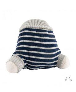 magia-delle-mamme-pannolini-lavabili-Popolini-cover-in-lana-WoolPant-knitted-merino-wool-grigio-righe-blu