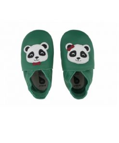 magia-delle-mamme-bobux-scarpina-soft-sole-panda-verde